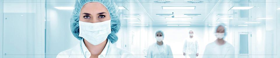 Маски медицинские одноразовые